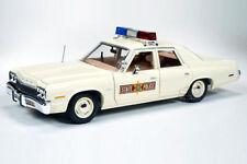 1/18 AutoWorld/Ertl - 1974 Dodge Monaco Illinois State Police Car Police