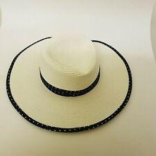 BNWT DENTS LADIES WHITE / CREAM OCCASION / WHITE HAT £40 TAG