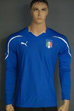 Puma Italien Italia Italy Home Jersey Trikot Maillot XL blue blau 736598 01