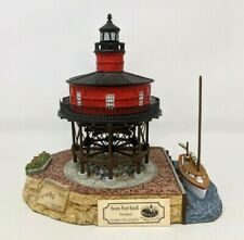 Harbour Lights Society Seven Foot Knoll Maryland #521 Lighthouse Figurine Fw20