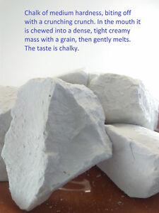 Chalk natural,Edible chalk,Edible chalk,chunks Russian, Chalk Snow Ball 450gr.