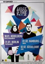 LILLY WOOD & THE PRICK - 2014 - Tourplakat - The Fight - Tourposter