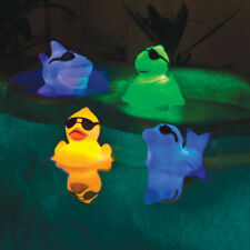 Game Swimming Pool Spa & Hot Tub Floating Light Up Pals - Shark & Dolphin - 2 Pk