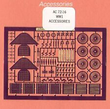 Airwaves 1/72 etched  WWI Accessories # AEC72016