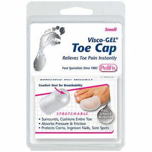 Pedifix Visco-gel Toe Cap, Small .