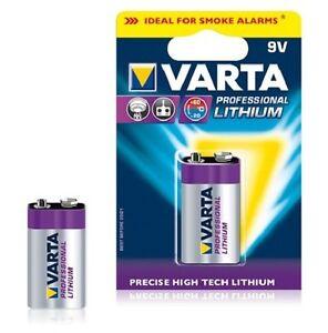 Varta Lithium Battery 9V 6LR61- Blister Of 1 - 6122.301.401