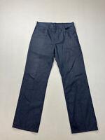 LEVI'S STA-PREST Jeans - W34 L32 - Navy - Great Condition - Men's