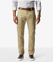 Dockers Alpha Stretch Khaki Slim Fit Tapered Leg Men's New British Khaki Pants