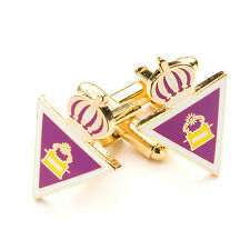 New Boxed Masonic Royal & Select Masters Cufflinks RSM