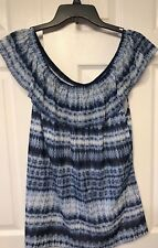 Chaps Mesh Women's top size 2X NWT $56 perfect for hot weather