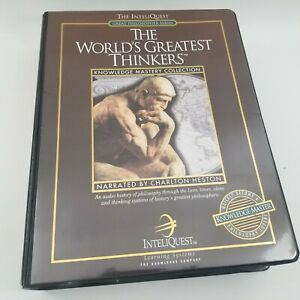 Inteliquest The World's Greatest Thinkers Audio Cassettes Complete