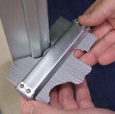 "5"" (125mm) Steel Metal Contour Gauge Tiling Skirting Laminate Profile Wood Shape"