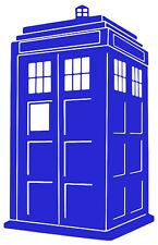 Doctor Who TARDIS Vinyl Decal Sticker Car Van Laptop Tablet Wall