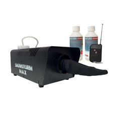 Snowstorm Max Snow Machine inc Wireless Remote & 500ml Concentrated Fluid (10L)