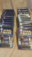 Star Wars Valentine's Day cards 20 boxes new lucasfilm 2002 Card Lot