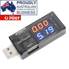 USB Charger Current Voltage Charging Detector Battery Tester Voltmeter/Ammeter