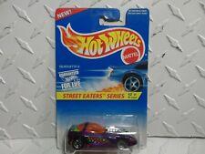 Hot Wheels #413 ERROR Purple Silhouette II w/Mismatched Wheels 5 Spoke & Lace