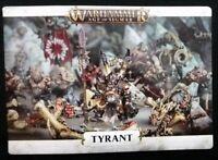 Ogor Tyrant from Feast of Bones Warhammer Age Sigmar Ogor Mawtribes