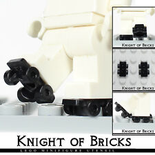 LEGO Minifigure BLACK Pair Footgear Roller Skate Utensil Accessories Vehicle