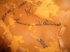 Bernie Williams Fastback Baseball Glove, Rawlings #Rbg72, Good, L@K, Read!