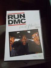 "RUN DMC ""LIVE AT MONTREUX 2001"" DVD"