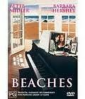 EX RENTAL BEACHES DVD BETTE MIDLER BARBARA HERSHEY DRAMA MOVIE GUARANTEED