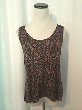 Silence + Noise Anthropologie Shirt Top Size Large #0060