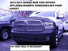 Lebra Front End Mask Cover Bra Fits 2013-17 Dodge Ram 1500 w/flares & w/o Park