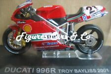 1/24 MOTO GP N° 34  SERIE 1 DUCATI 996R 2001  TROY BAYLISS #21 MOTORCYCLE