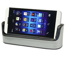 Dual Sync Charging Dock Cradle Charger + Micro USB Cable For Blackberry Z10