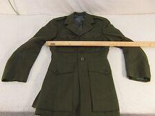 US Marine Corps Men's SACO Uniforms 37 Short Dress Alpha Coat No Belt 33017