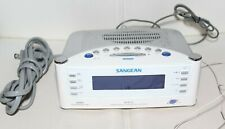 Sangean RCR-22 Atomic Clock with FM-RDS / AM / Aux-in Clock Radio - Used