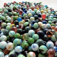 Glass Peewee Marbles 12MM Bulk Assorted Mega Lot Set of 1000