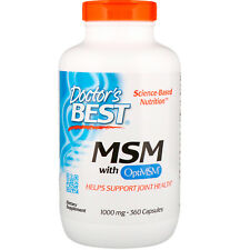 Doctor s Best  MSM with OptiMSM  1000 mg  360 Capsules