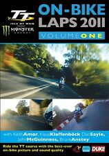 Isle of Man TT 2011 - On Bike Laps Volume 1 (New DVD) John McGuinness Keith Amor