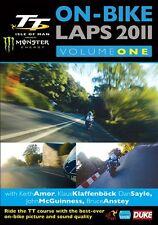 Isle of Man TT 2011 - On Bike Laps Volume 1 (New DVD) John McGuinness Keith Amor