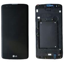 Repuesto Pantalla LCD Display Tactil CON MARCO para LG K8 K350N NEGRA ENVIO MRW