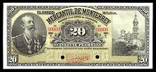 El Banco Mercantil de Monterrey 20 Pesos SPECIMEN, M426s2 / BK-NUE-51.1 UNC.