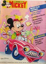 Le journal de Mickey n°1788 du 30 septembre 1986 - Mickeyrama Les 1ers Français