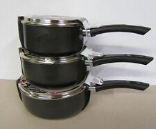 Casseroles et marmites anti-adhérent en aluminium pour la maison