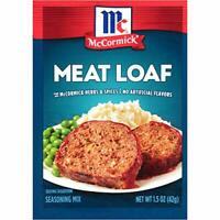 McCormick Classic Meat Loaf Seasoning Mix Packet, 1.5 oz