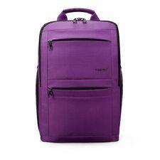 Women Anti Theft Backpacks Feenage Girls 14 To 17 Inch Laptop Solid School Bag