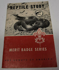 Boy Scouts of America Merit Badge Series Reptile Study 1963 by Roger Conant