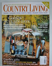 Home & Garden October Country Living Magazines