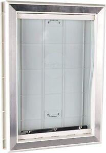 Extreme Weather Pet Door Dog Doors Exterior Cat Entry Medium Dogs Heavy Duty New