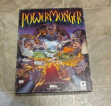 "PowerMonger (PC, 1992) 3.5"" Floppy Disks for DOS - Includes box"
