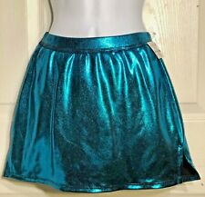 Gk Elite Cheer Skirt Adult Small Azure Mystique School Fit As Nwt!