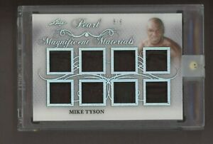 2019 Leaf Pearl Magnificent Materials Mike Tyson Multi Patch 8/9
