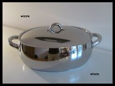 ALESSI : Oval Casserole MAMI SG112/30 with lid ~ INDUCTION ~ Stefano Giovannoni