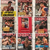 Boxing Monthly Magazines, 2007, Choose your month, Mint Condition